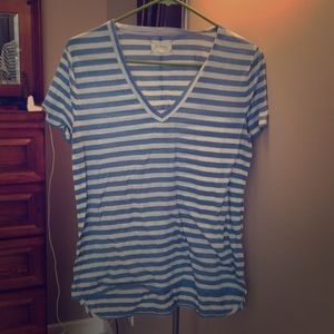 Perfect striped LOU AND GREY by Loft tee